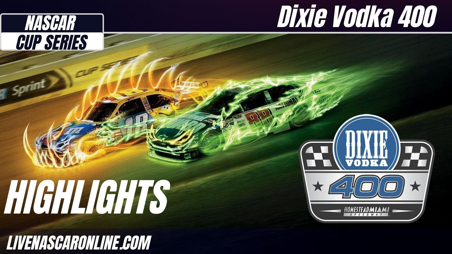 Dixie Vodka 400 Highlights 2021 Nascar Cup Series