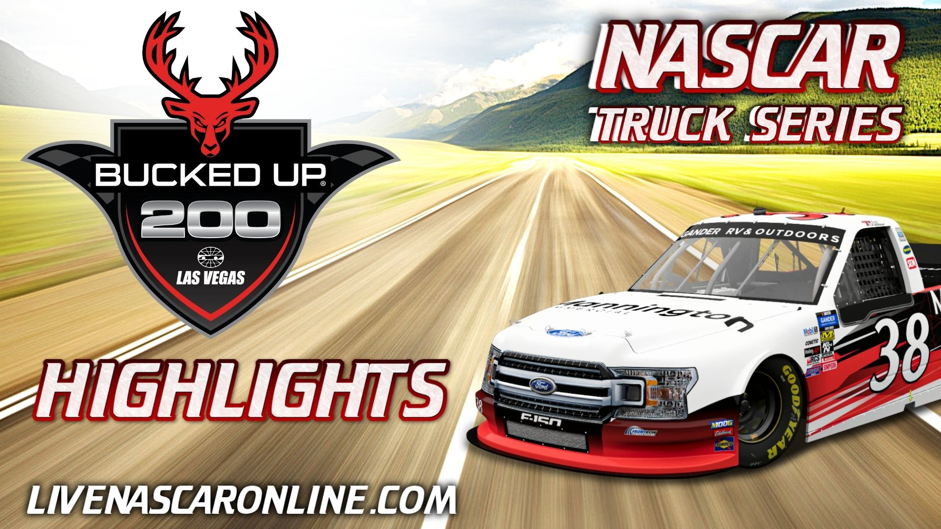 Bucked Up 200 Highlights 2021 Nascar Truck Series