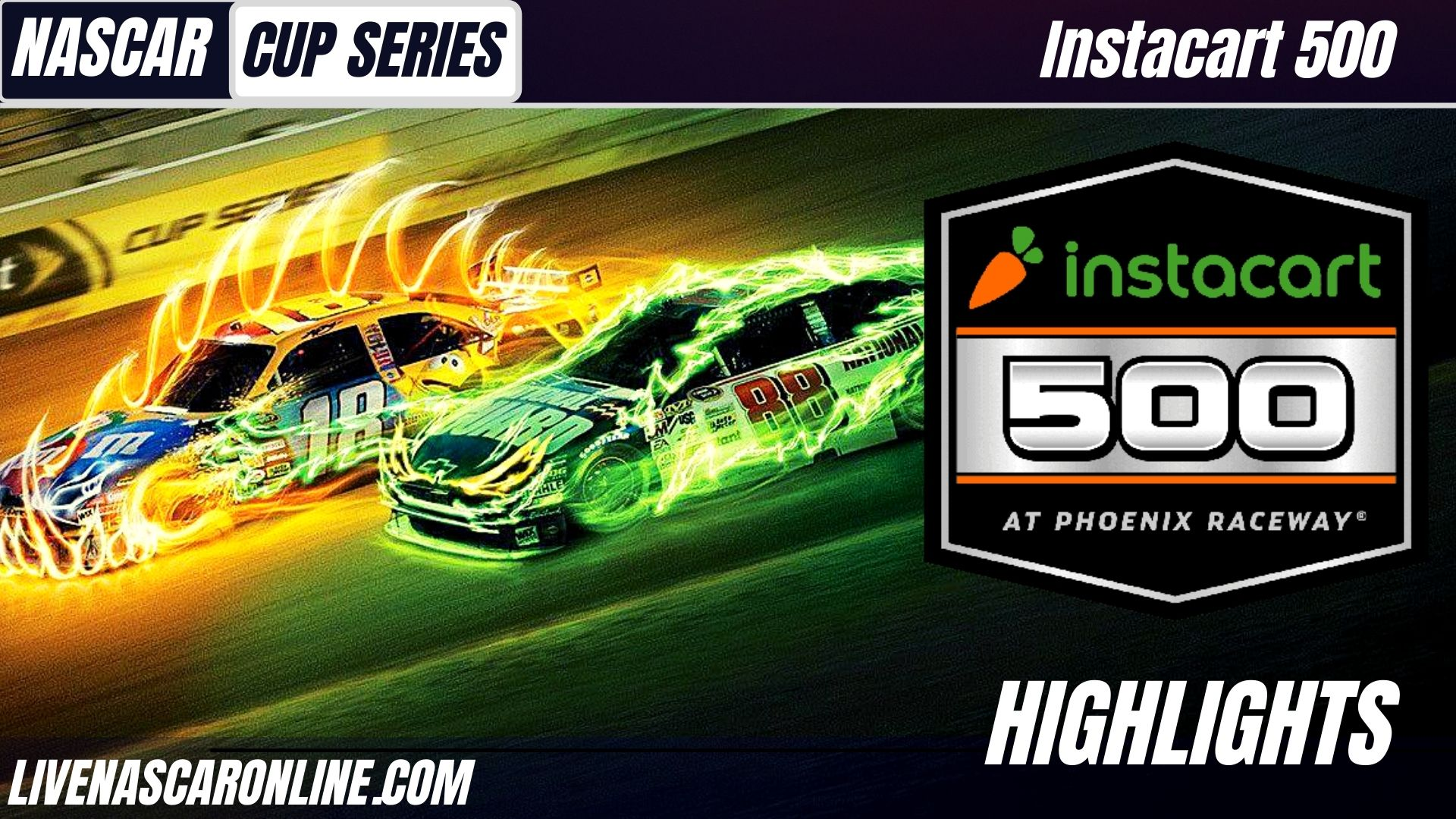 Instacart 500 Highlights 2021 Nascar Cup Series