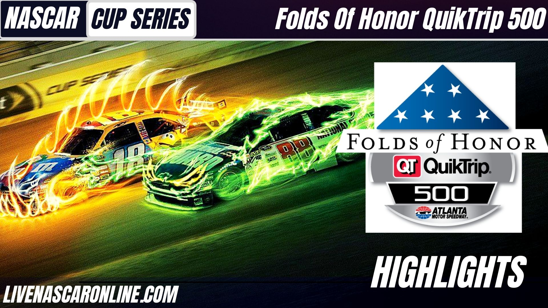 Folds Of Honor QuikTrip 500 Highlights 2021 Nascar Cup Series