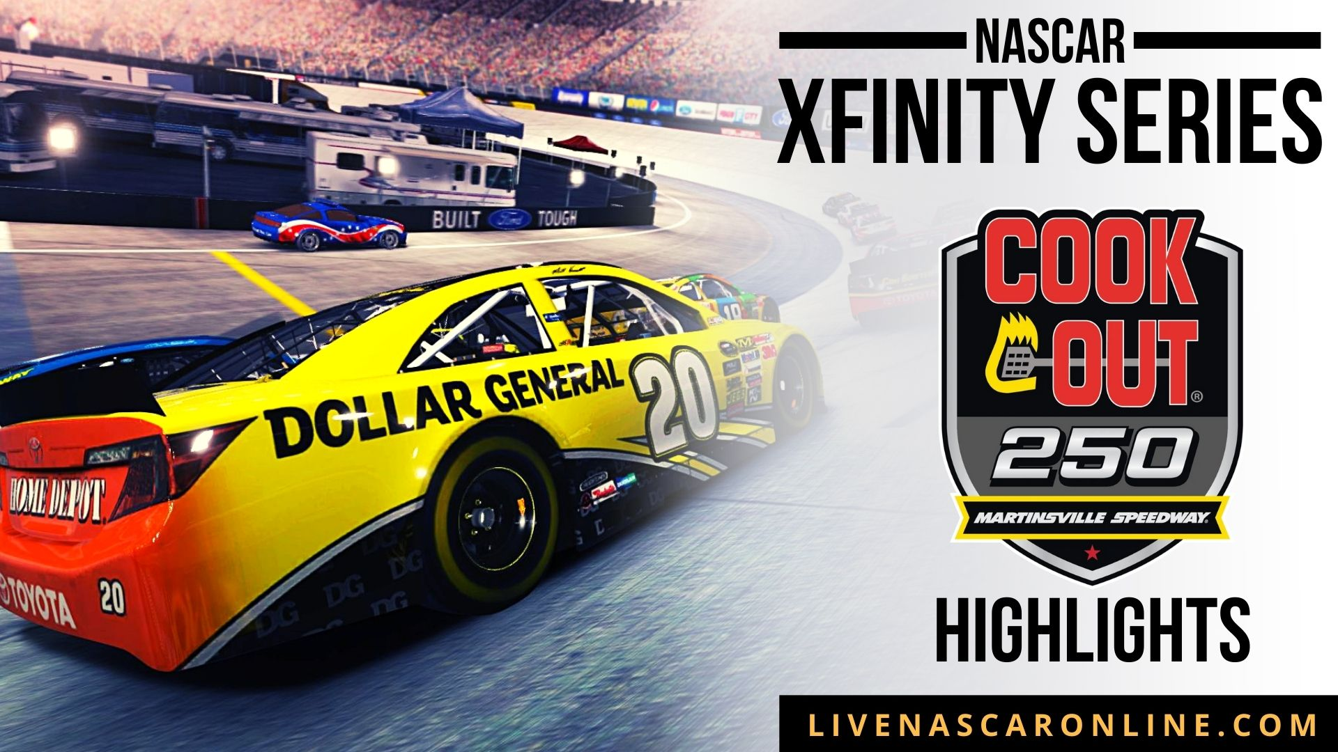 Cook Out 250 Highlights 2021 Nascar Xfinity Series