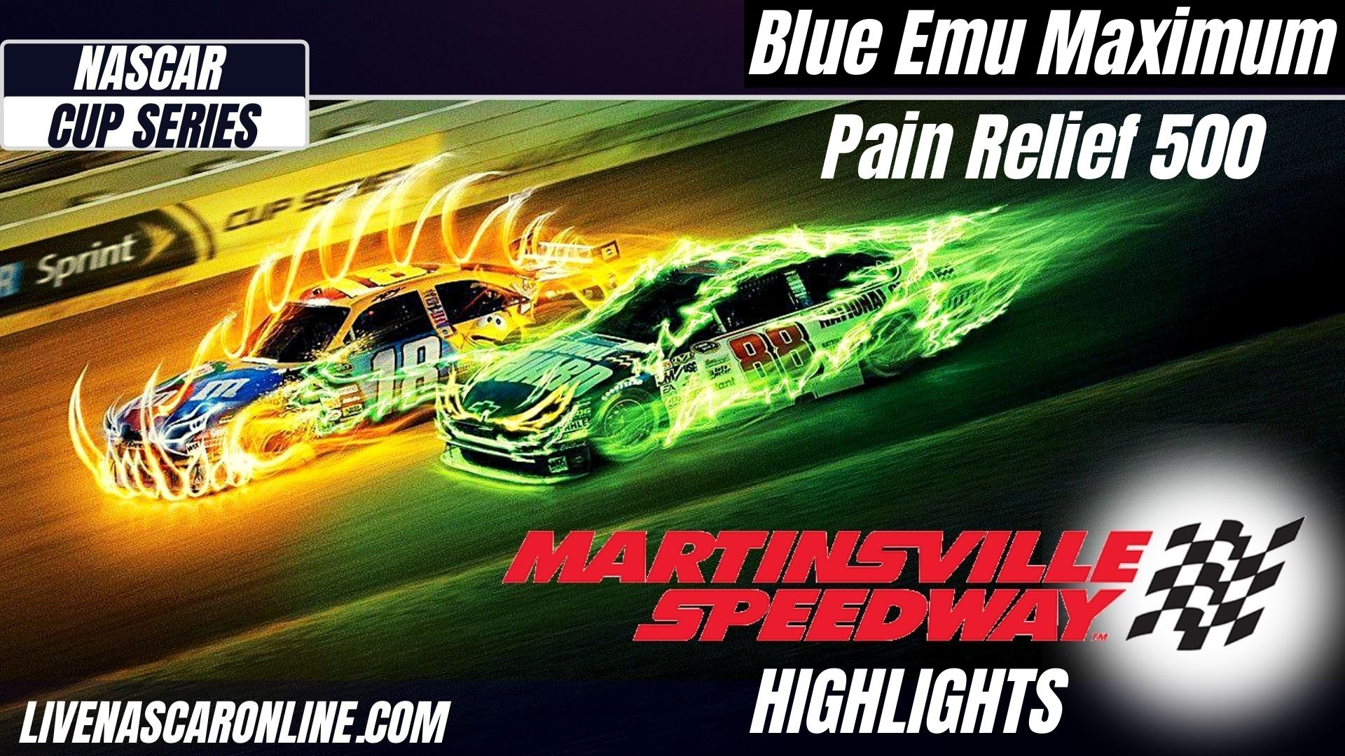 Maximum Pain Relief 500 Highlights 2021 Cup Series