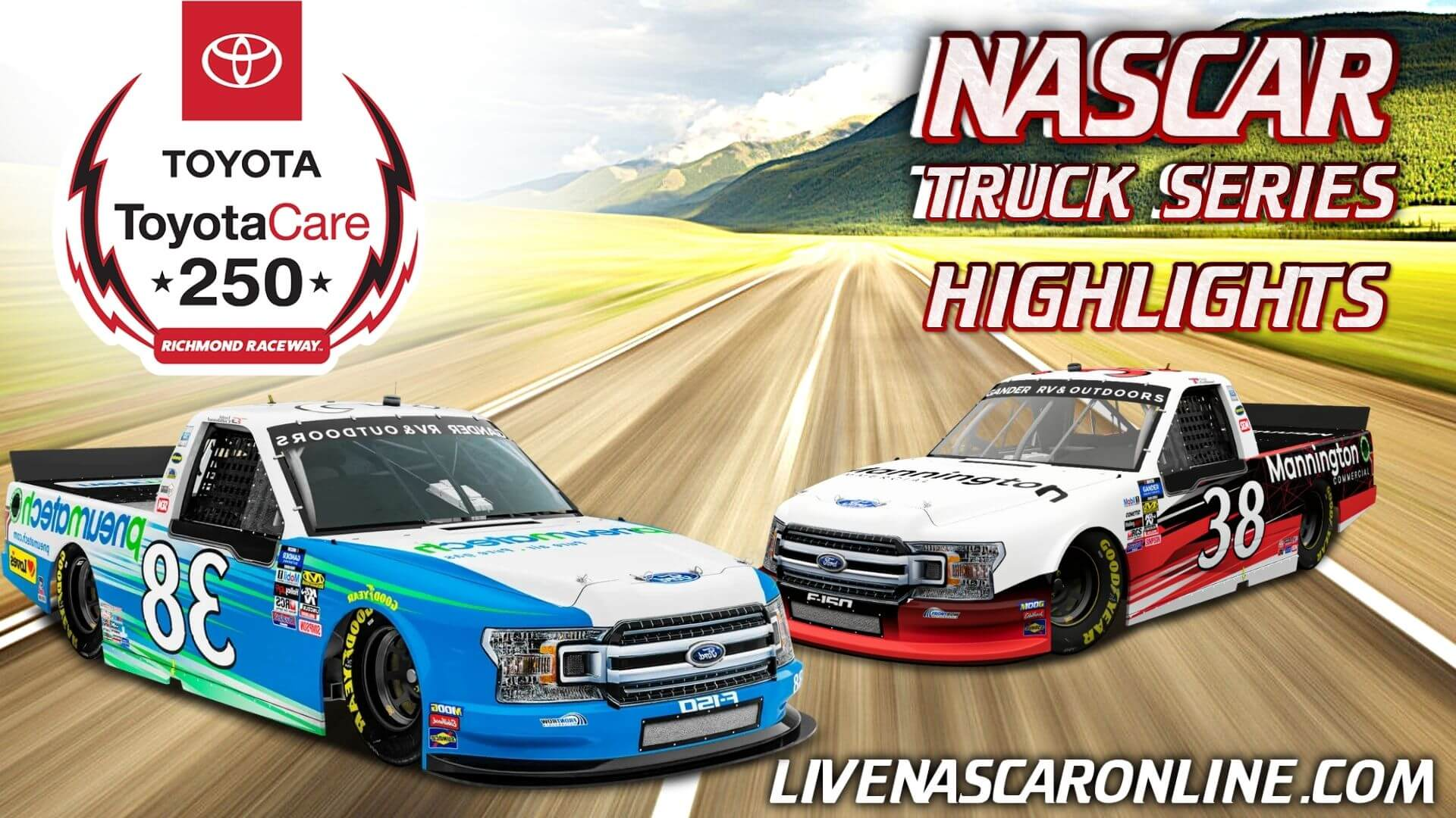 ToyotaCare 250 Highlights 2021 Nascar Truck Series