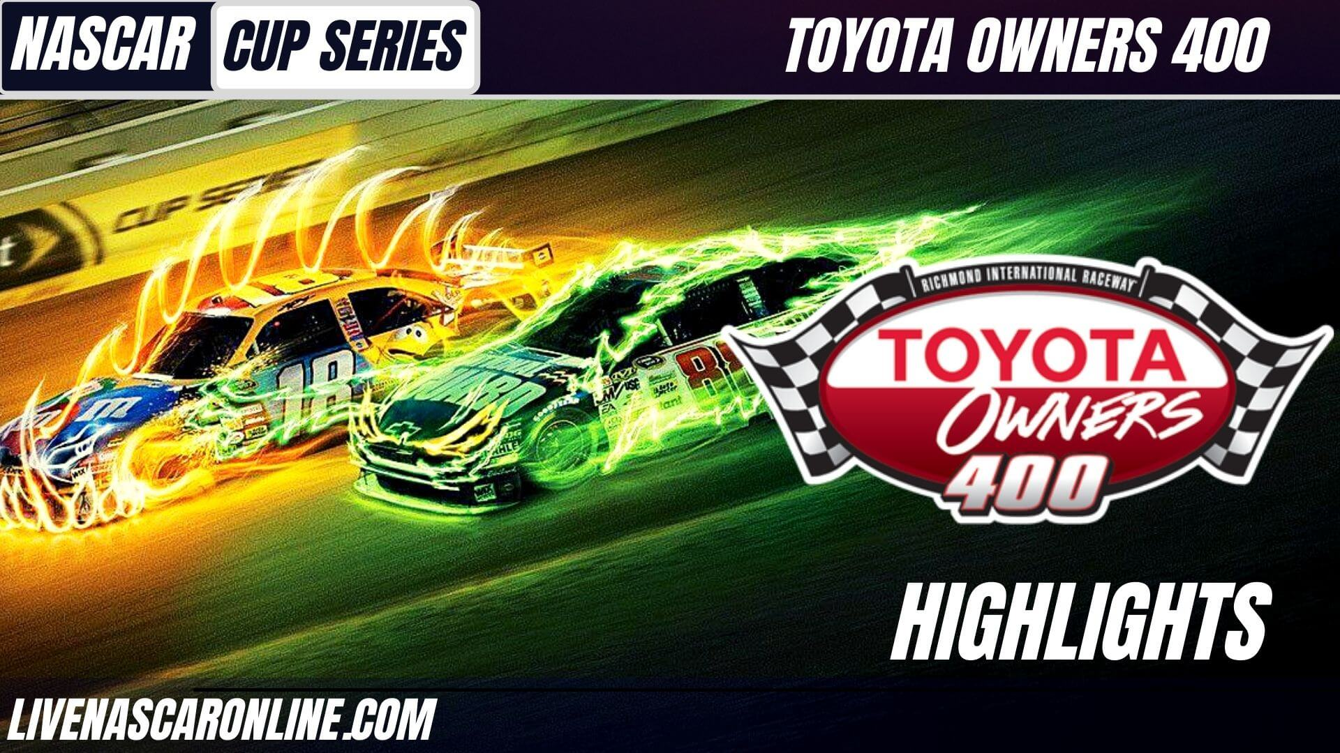 Toyota Owners 400 Highlights 2021 Nascar Cup Series