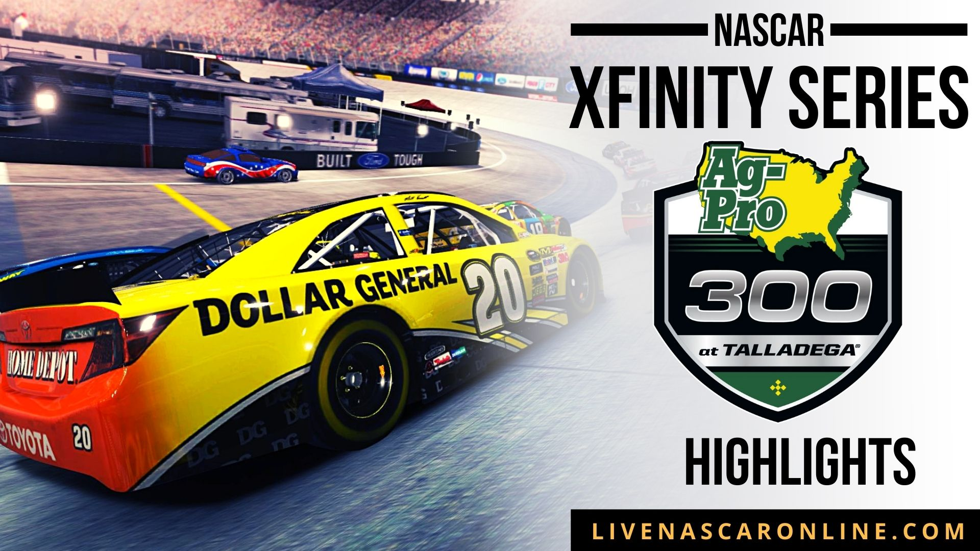 Ag Pro 300 Highlights 2021 Nascar Xfinity Series