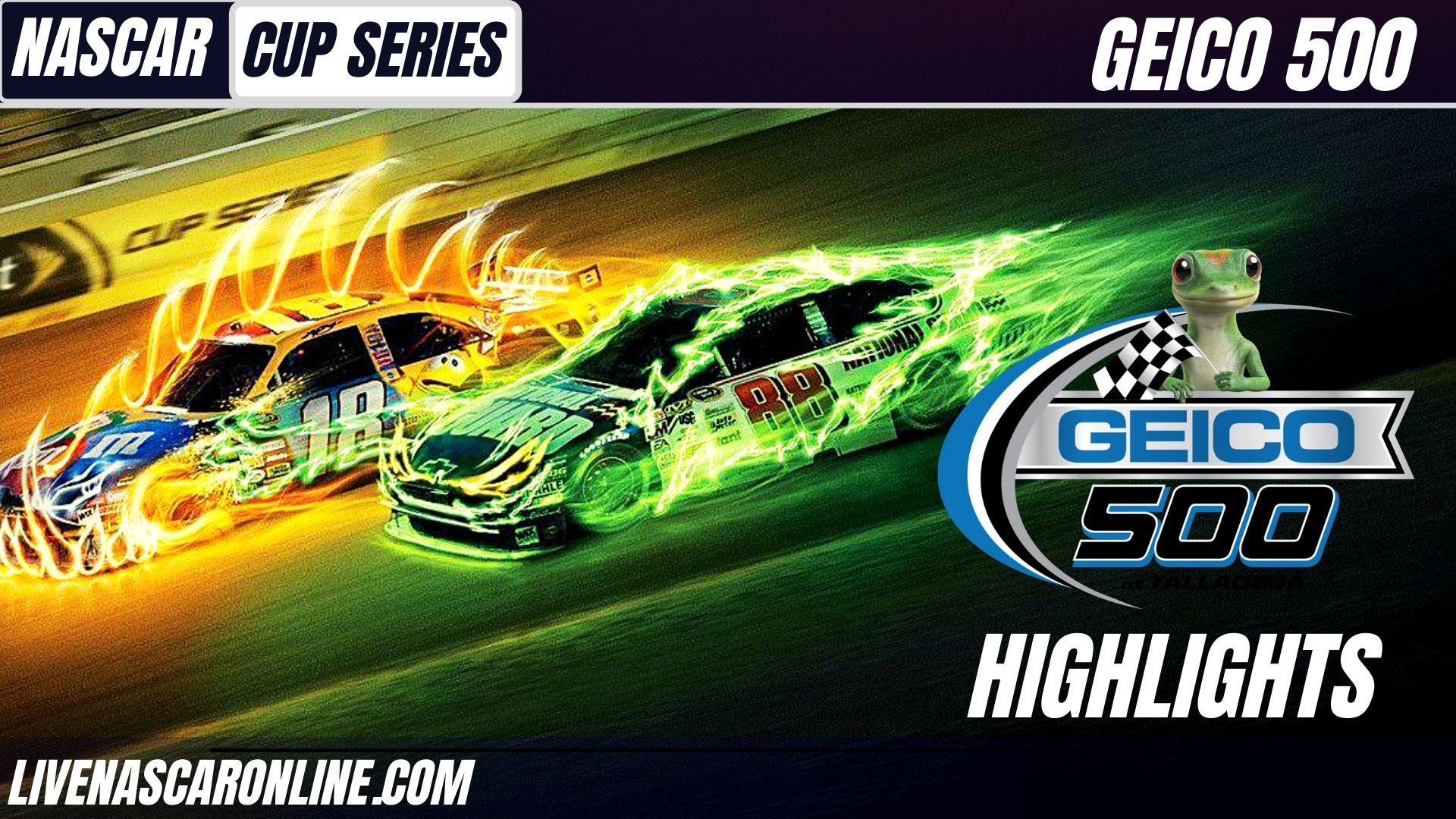 Geico 500 Highlights 2021 Nascar Cup Series