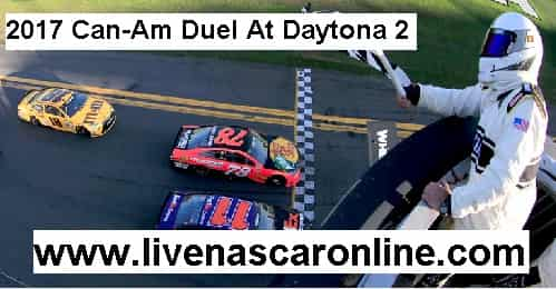 2017 Can-Am Duel At Daytona 2 live