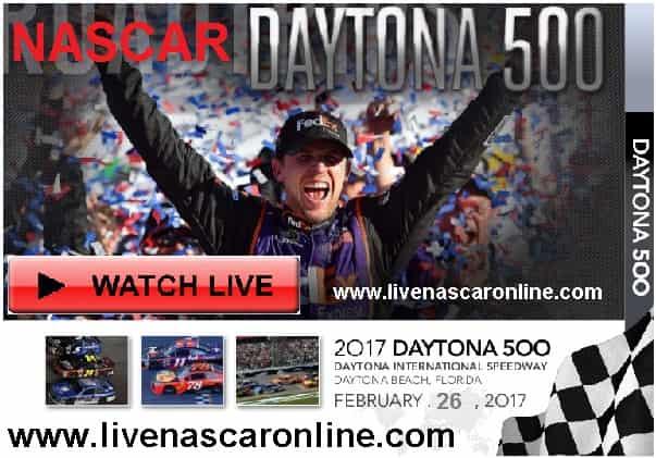 2017 Daytona 500 Race Live