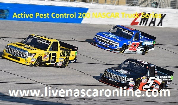 Active Pest Control 200 NASCAR Truck Series HD Live