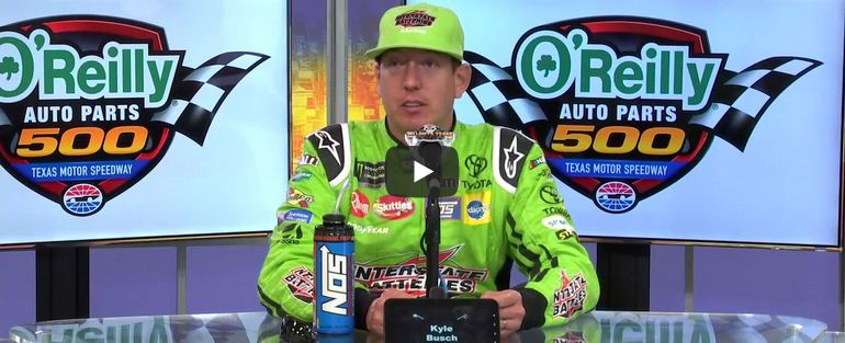 Full Kyle Busch Post Race Press Conference