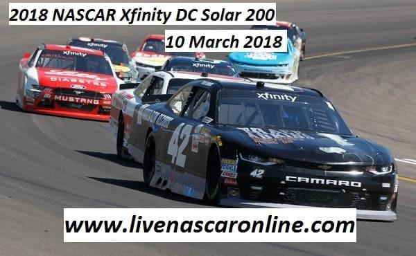 Live 2018 NASCAR Xfinity DC Solar 200 Online