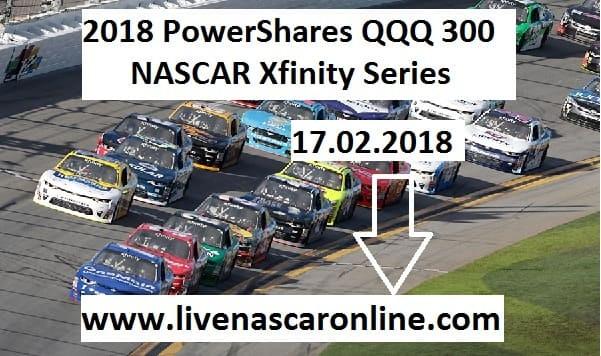 Live PowerShares QQQ 300 NASCAR Xfinity Series Online