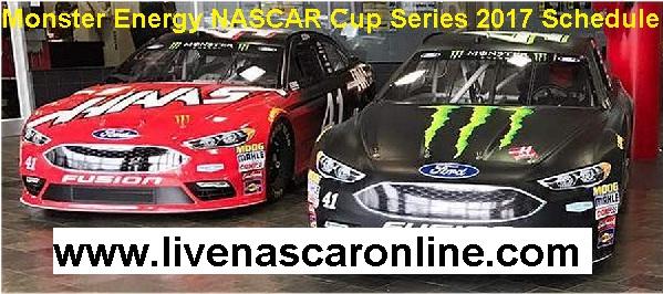 Monster Energy NASCAR Cup Series 2017 Schedule