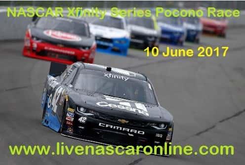 NASCAR Xfinity Series Pocono Race Live