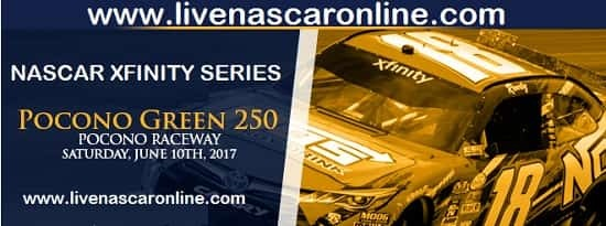 Watch Pocono Green 250 NASCAR Xfinity Series Live