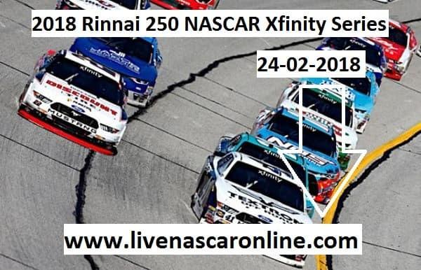 Watch Rinnai 250 NASCAR Xfinity Series Live