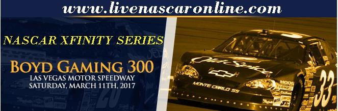 Boyd Gaming 300 NASCAR Xfinity 2017 Live