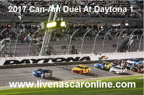 Can-Am Duel At Daytona 1 streaming