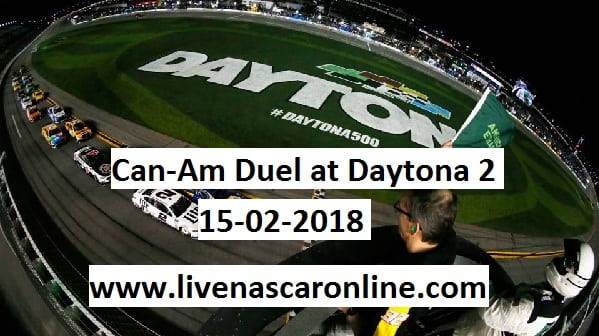 Can-Am Duel at Daytona 2