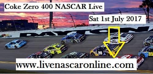 Coke Zero 400 NASCAR Live