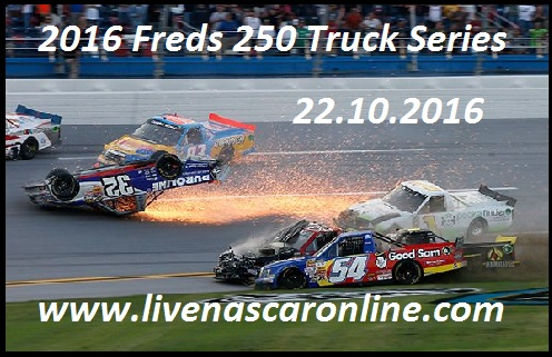 Freds 250 Truck Series live
