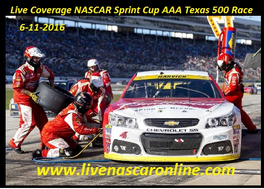 Live Coverage NASCAR Sprint Cup AAA Texas 500 Race