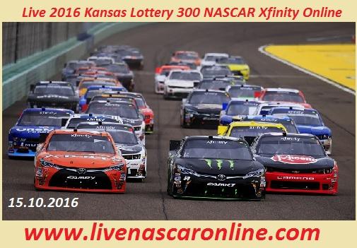 Live 2016 Kansas Lottery 300 NASCAR Xfinity Online