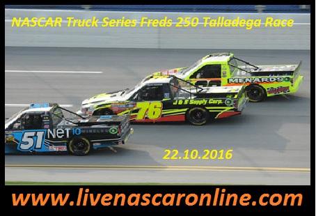 Live NASCAR Truck Series Freds 250 Talladega Race