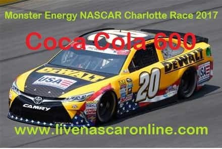 Monster Energy NASCAR Charlotte Race live