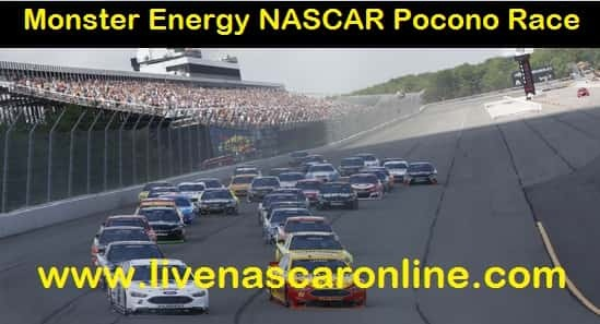 Monster Energy NASCAR Pocono Race live