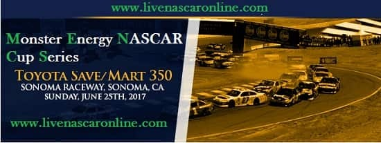 Monster Energy NASCAR Sonoma live