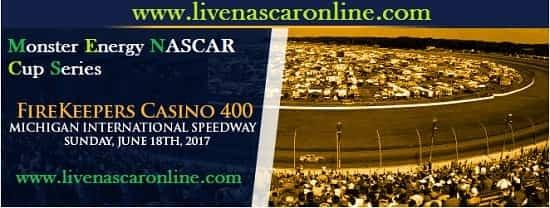 NASCAR FireKeepers Casino 400 live