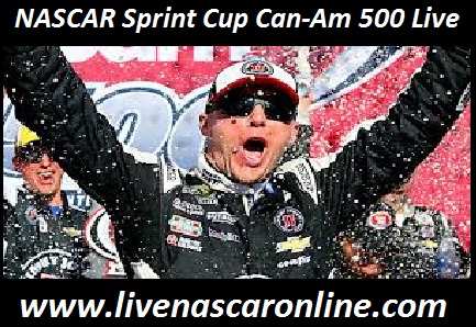NASCAR Sprint Cup Can-Am 500 Live
