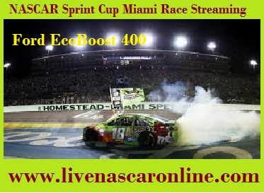 NASCAR Sprint Cup Miami Race