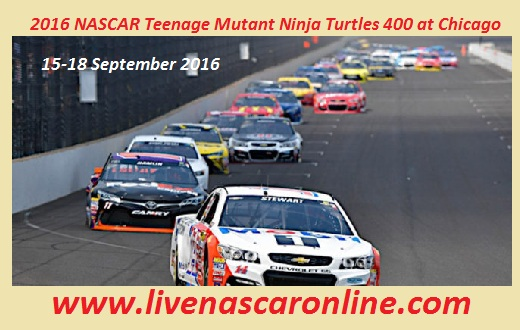 Teenage Mutant Ninja Turtles 400 Sprint Cup Series Live