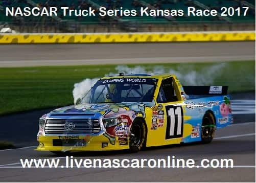 NASCAR Truck Series Kansas Race Stream live