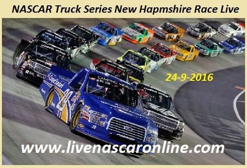 NASCAR Truck Series New Hapmshire Race Live
