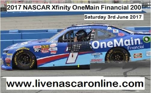 NASCAR Xfinity OneMain Financial 200 live