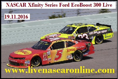 NASCAR Xfinity Series Ford EcoBoost 300 Live
