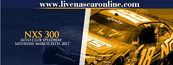 NASCAR Xfinity Series NXS 300 live