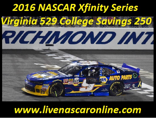 NASCAR Xfinity Series Virginia 529 College Savings 250