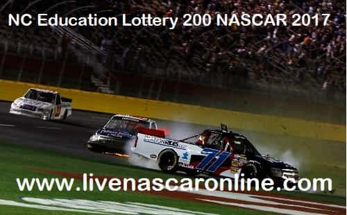 NC Education Lottery 200 NASCAR live