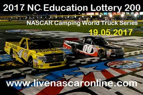 North Carolina Education Lottery 200 Truck Series live