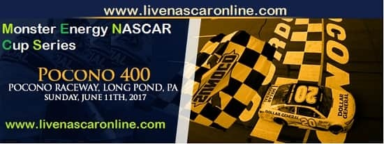 Pocono 400 NASCAR streaming live