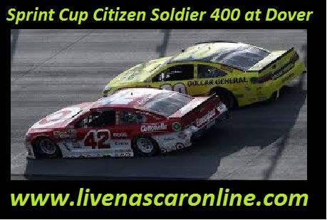 Sprint Cup Citizen Soldier 400 at Dover
