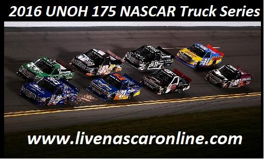 UNOH 175 NASCAR Truck Series
