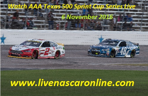 Watch AAA Texas 500 Sprint Cup Series Live