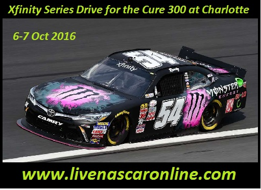 Xfinity Series Drive for the Cure 300 at Charlotte