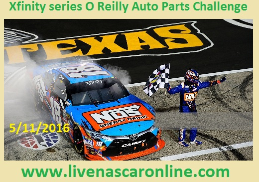 Xfinity series O Reilly Auto Parts Challenge