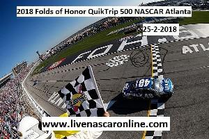 2018 Folds of Honor QuikTrip 500 NASCAR Atlanta Live